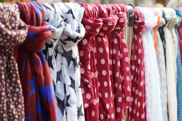 scarves or scarfs