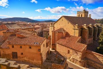 Mora de Rubielos village in Teruel Spain