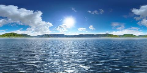 Insel, Sonne und Ozean