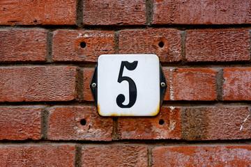 Number five (5)