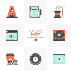 Film Premiere Futuro Next Icons
