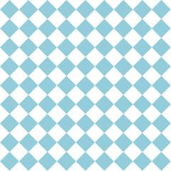 Nahtloses Muster blau weiß kariert für das Oktoberfest. Vektor Datei eps10