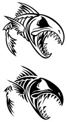 Fish skeleton