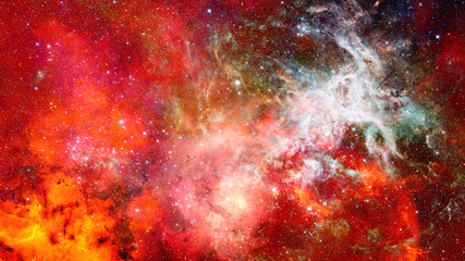 Nebula in space. Elements of this image furnished by NASA.