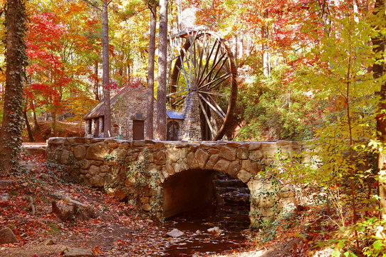 This historic 1930 mill is located on the campus of Berry College near Rome, Georgia