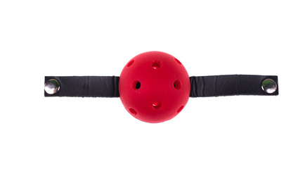 red ball for a fetish