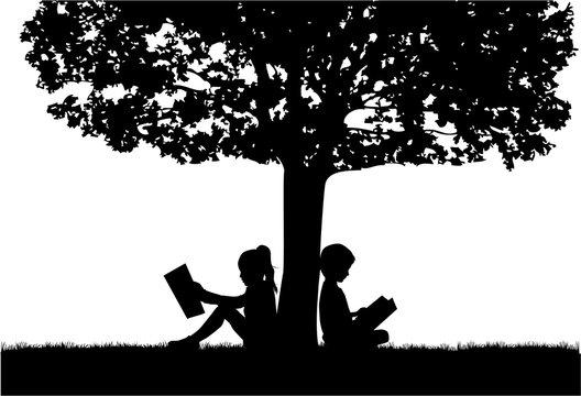 109,041 BEST Reading Tree IMAGES, STOCK PHOTOS & VECTORS   Adobe Stock