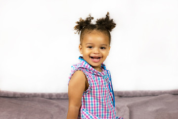 Inside photo shoot of sweet kid
