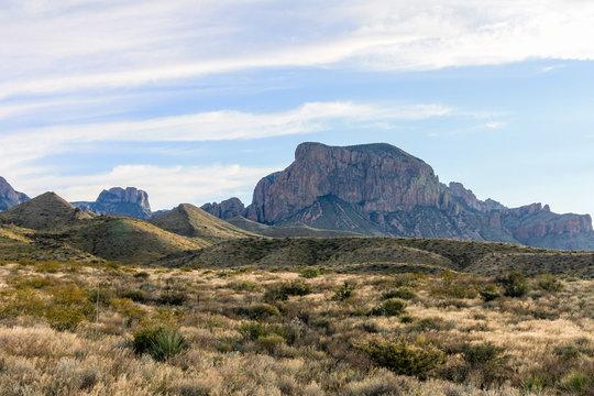 Beautiful southwestern Texas desert scene