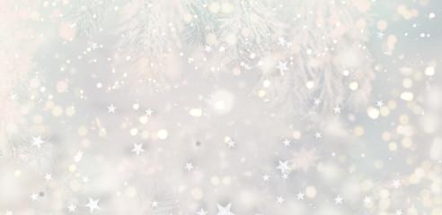 Winter Weihnachtshintergrund