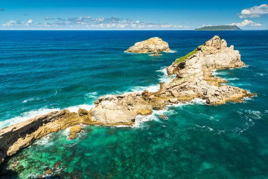 Caste Point, Pointe des Colibris, Guadaloupe, Caribbean