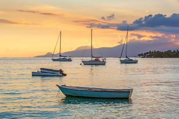 Saint Anne Sunset, Guadeloupe, Caribbean