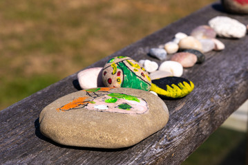 Kids Painted Rocks