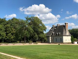 Haus beim Schloss Chenonceau in Chenonceaux, Frankreich