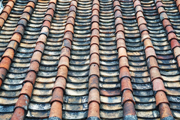 tile roof texture