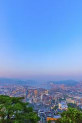 長崎の夕焼け
