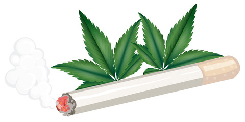 A joint of weed
