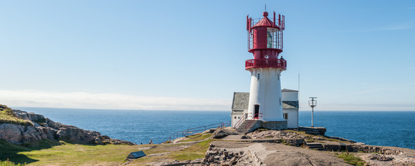 The first electronic lighthouse in Norway history, a very nice `fyr`