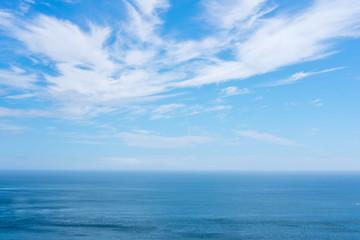 青空と海 Wall mural