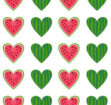 watermelon seamless background