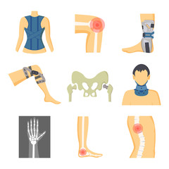 Orthopedics Fixing Tools and Pain in Bones Image