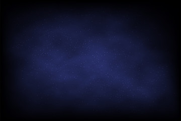 Night sky. Vector abstract background.