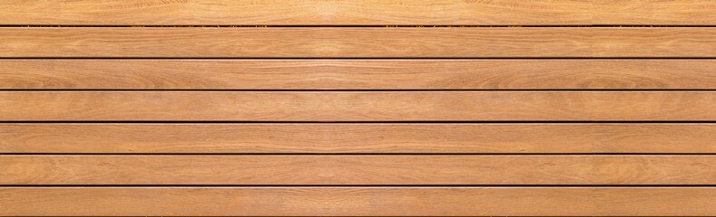 Photo sur Plexiglas Bois Panorama of vintage brown wood wall pattern and background seamless