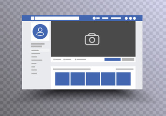 web page browser Facebook