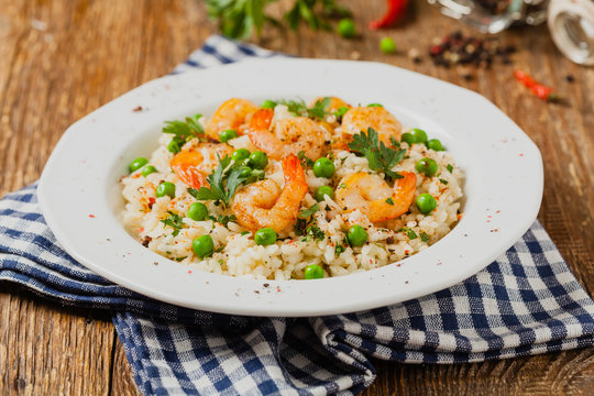 Risotto With Shrimp.