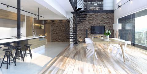 Luxury modern loft