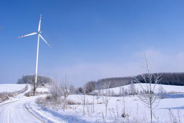 Zima na Mazurach, Gołdap, Polska