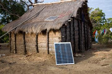 solar energy at Madagascar