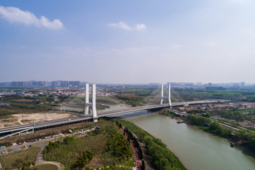 Nanjing City, Jiangsu Province, urban construction landscape
