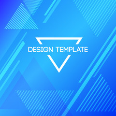 Abstract creative concept layout template.