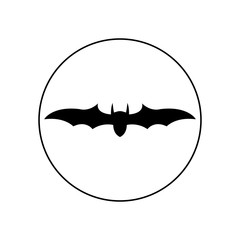 Bat icon, logo
