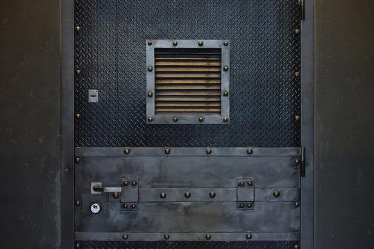 door of jail camera