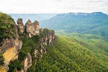 Keuken foto achterwand Oceanië The Three Sisters in Blue Mountains in Australia.