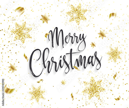 Christmas Backgrounds Cute.Cute Merry Christmas Background With Glamour Golden Glitter