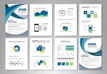 Elements infographic set
