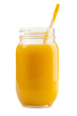 Mango banana orange smoothie