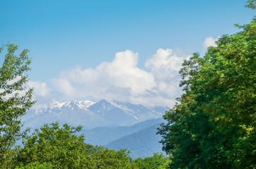 far view of the Kazbek