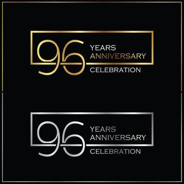 96th years anniversary celebration background