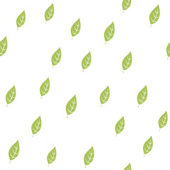 Leaf seamless pattern cover. Leaf icon creative design. Wallpaper, web design, textile, printing and UI and UX usage.