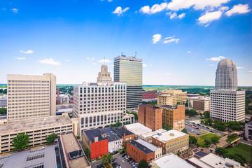 Winston-Salem, North Carolina, USA Skyline