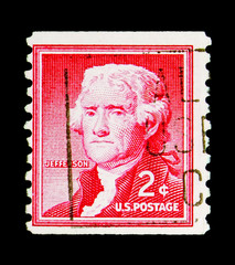 Thomas Jefferson (1743-1826), 3rd President, Liberty issue serie, circa 1968