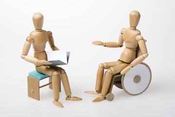 Pflegeversicherung, Gespräch, Inklusion