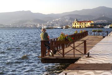 Coastline in Izmir (Smyrna ) / Turkey