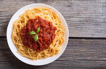 Italian pasta spaghetti Wall mural