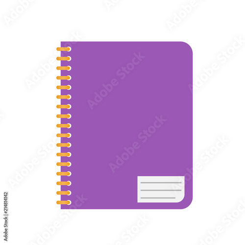 notebook vector icon icon for app and website, training symbols
