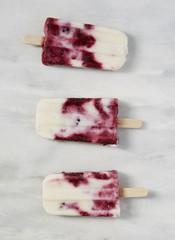 Berry ice creams